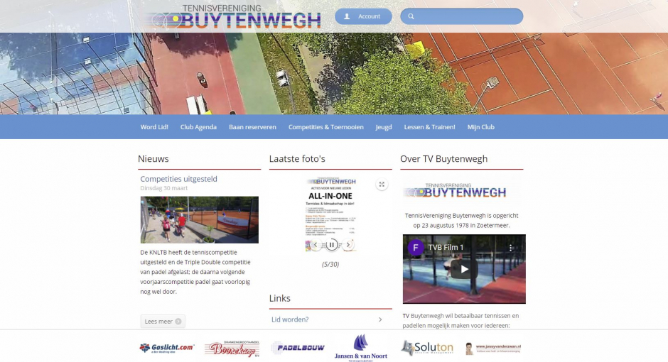 Nieuwe Web Site!
