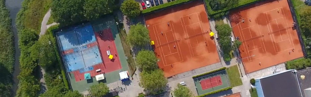Padel en Tennis in het groen